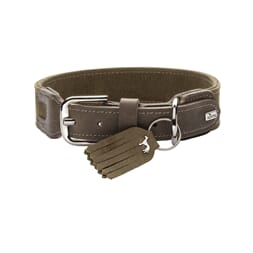 Collar Hunting Special, olive, leather